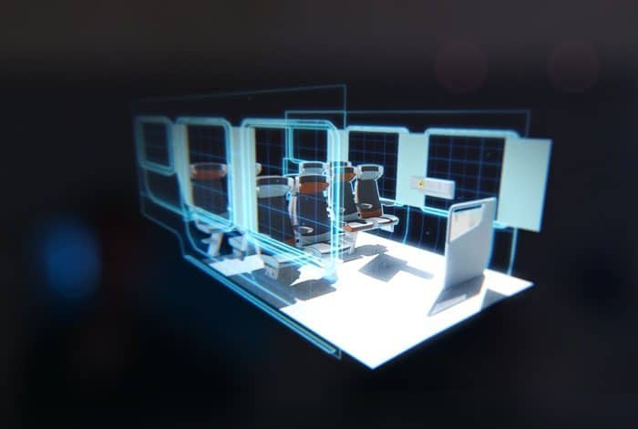image 3D du coradia alstom par Lagoon Studios animation 2D/3D et VFX