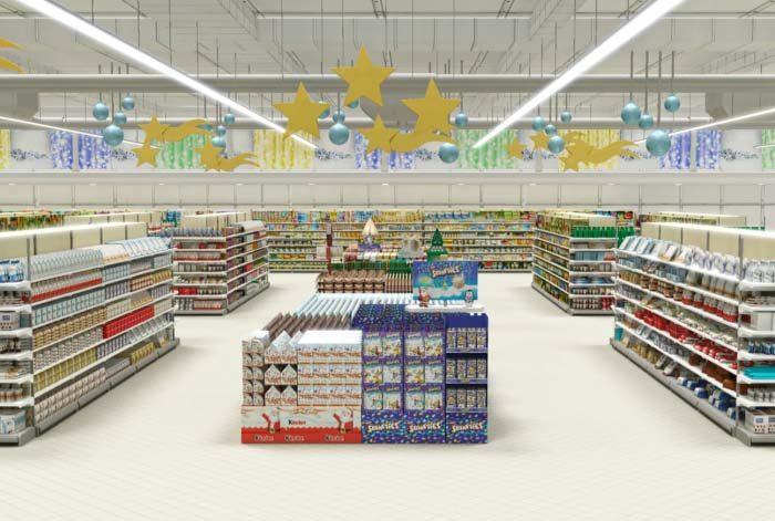 image 3D nestlé chocolat par Lagoon Studios animation 2D/3D et VFX