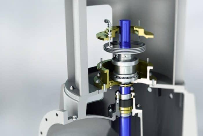 image 3D pompe STR Sulzer par Lagoon Studio animation 2D/3D et VFX