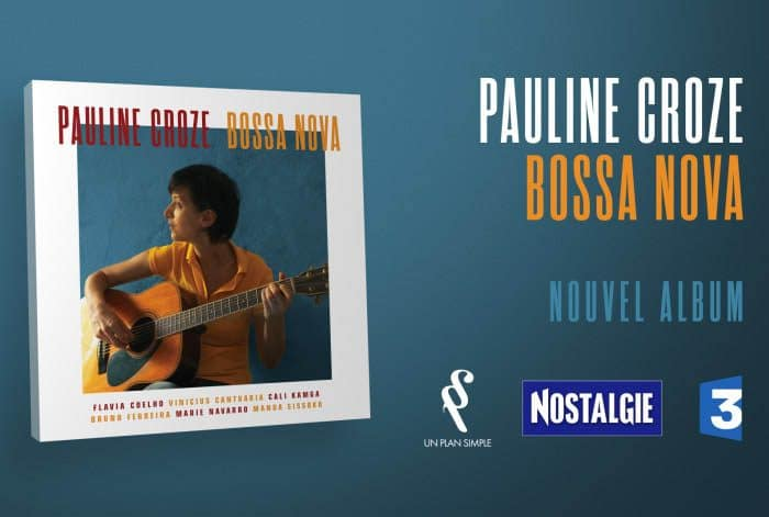 """Packshot publicitaire pour l'album """"Bossa Nova"""" de Pauline Croze par Lagoon Studios animation 2D/3D et VFX"""